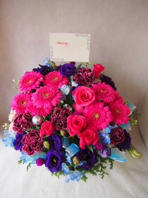 花ギフト|フラワーギフト|誕生日 花|カノシェ話題|スタンド花|ウエディングブーケ|花束|花屋|43636