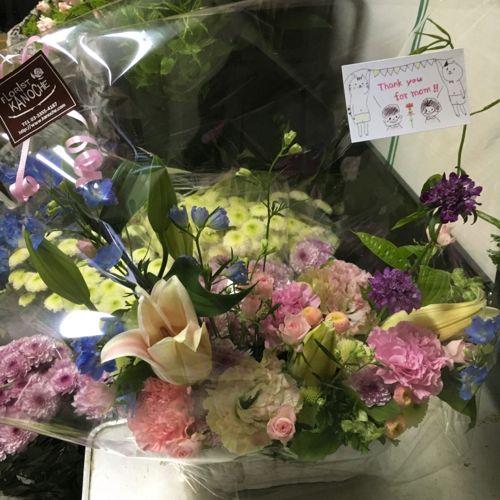 花ギフト|フラワーギフト|誕生日 花|カノシェ話題|スタンド花|ウエディングブーケ|花束|花屋|IMG_1007