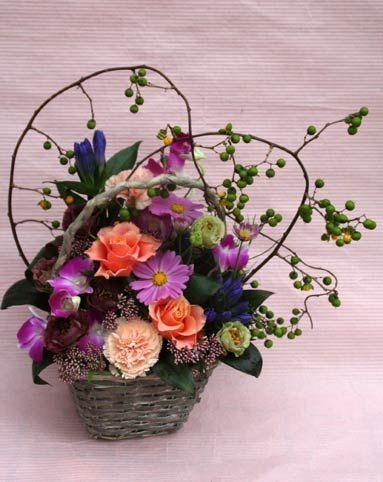 花ギフト|フラワーギフト|誕生日 花|カノシェ話題|スタンド花|ウエディングブーケ|花束|花屋|2015_aut_a_3(1)