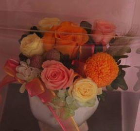 花ギフト|フラワーギフト|誕生日 花|カノシェ話題|スタンド花|ウエディングブーケ|花束|花屋|40812