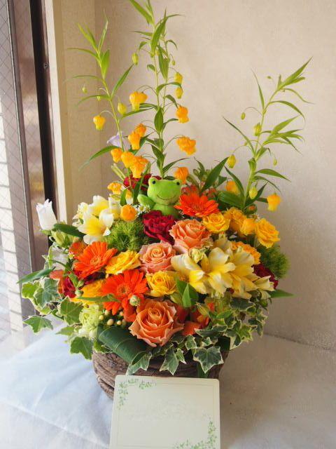 花ギフト|フラワーギフト|誕生日 花|カノシェ話題|スタンド花|ウエディングブーケ|花束|花屋|55220