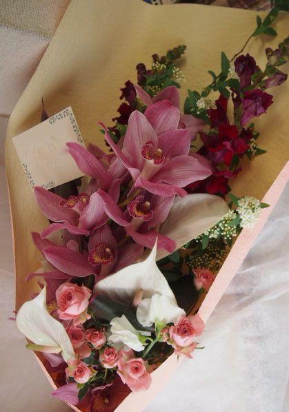 花ギフト|フラワーギフト|誕生日 花|カノシェ話題|スタンド花|ウエディングブーケ|花束|花屋|45984