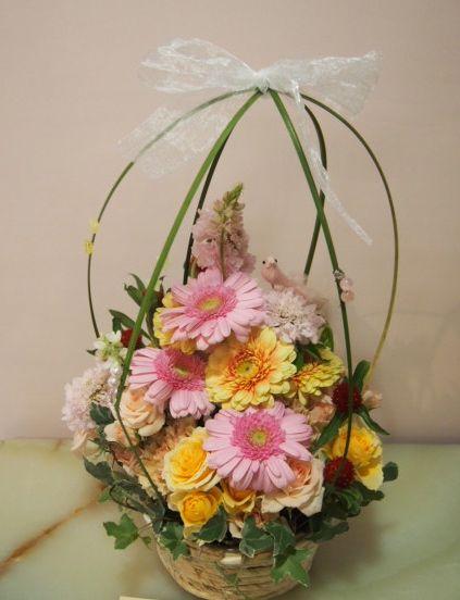 花ギフト|フラワーギフト|誕生日 花|カノシェ話題|スタンド花|ウエディングブーケ|花束|花屋|54072