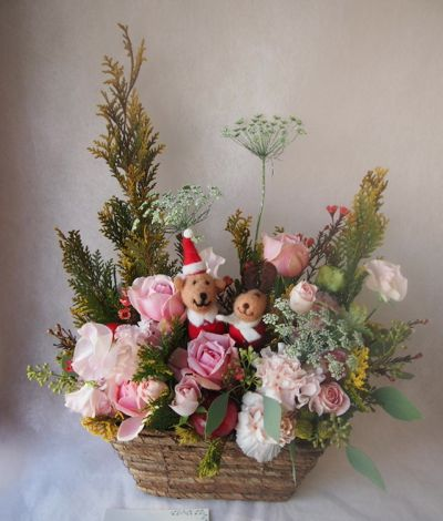 花ギフト|フラワーギフト|誕生日 花|カノシェ話題|スタンド花|ウエディングブーケ|花束|花屋|37727