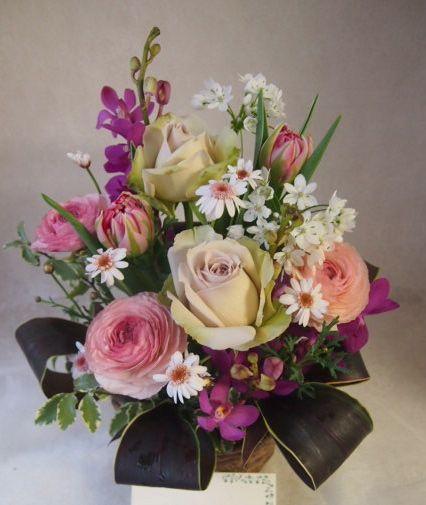 花ギフト|フラワーギフト|誕生日 花|カノシェ話題|スタンド花|ウエディングブーケ|花束|花屋|46328