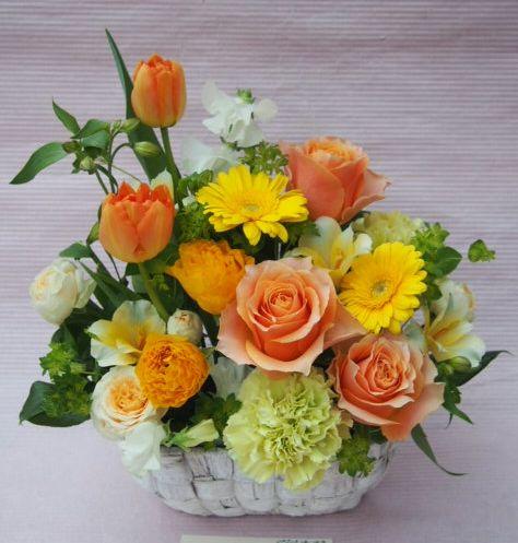 花ギフト|フラワーギフト|誕生日 花|カノシェ話題|スタンド花|ウエディングブーケ|花束|花屋|53929