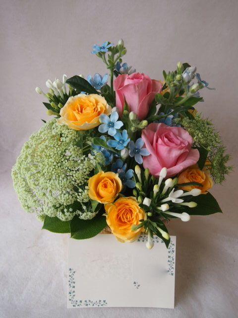 花ギフト|フラワーギフト|誕生日 花|カノシェ話題|スタンド花|ウエディングブーケ|花束|花屋|40744