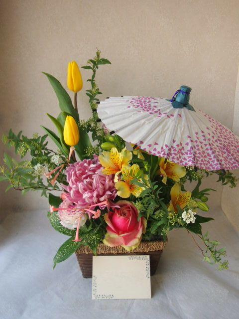 花ギフト|フラワーギフト|誕生日 花|カノシェ話題|スタンド花|ウエディングブーケ|花束|花屋|54227