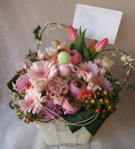 花ギフト|フラワーギフト|誕生日 花|カノシェ話題|スタンド花|ウエディングブーケ|花束|花屋|46229