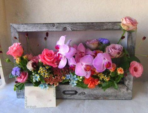 花ギフト|フラワーギフト|誕生日 花|カノシェ話題|スタンド花|ウエディングブーケ|花束|花屋|57931