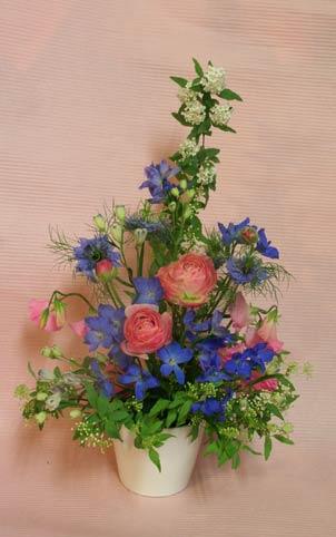 花ギフト フラワーギフト 誕生日 花 カノシェ話題 スタンド花 ウエディングブーケ 花束 花屋 木村さん