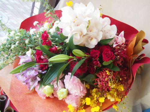 花ギフト|フラワーギフト|誕生日 花|カノシェ話題|スタンド花|ウエディングブーケ|花束|花屋|46671