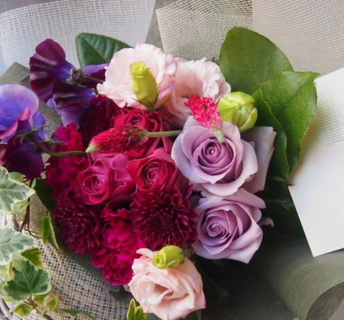 花ギフト|フラワーギフト|誕生日 花|カノシェ話題|スタンド花|ウエディングブーケ|花束|花屋|53322