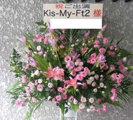 花ギフト フラワーギフト 誕生日 花 カノシェ話題 スタンド花 ウエディングブーケ 花束 花屋 p17028