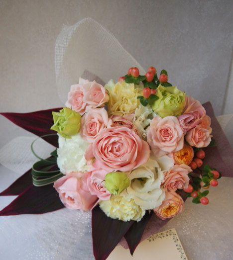 花ギフト|フラワーギフト|誕生日 花|カノシェ話題|スタンド花|ウエディングブーケ|花束|花屋|52514