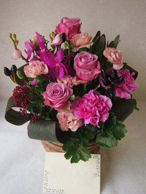 花ギフト|フラワーギフト|誕生日 花|カノシェ話題|スタンド花|ウエディングブーケ|花束|花屋|51563