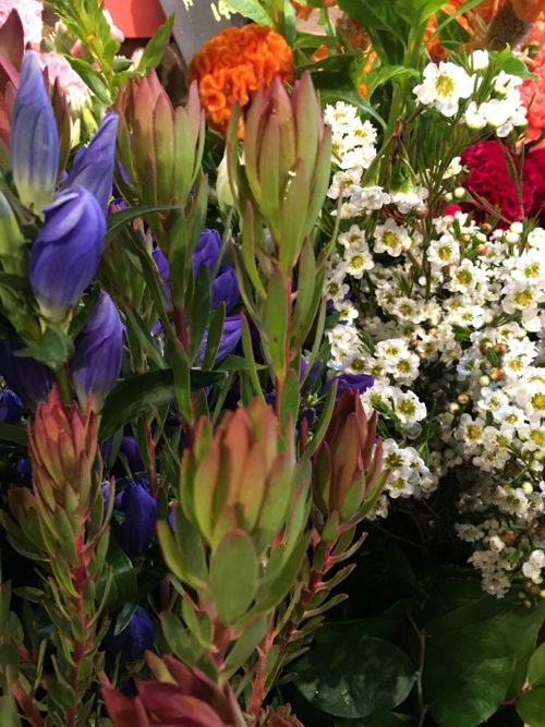 花ギフト フラワーギフト 誕生日 花 カノシェ話題 スタンド花 ウエディングブーケ 花束 花屋 IMG_4285