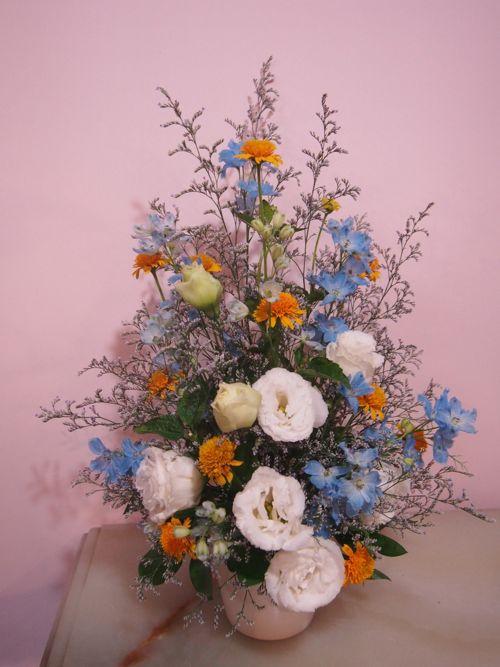 花ギフト|フラワーギフト|誕生日 花|カノシェ話題|スタンド花|ウエディングブーケ|花束|花屋|P6290549