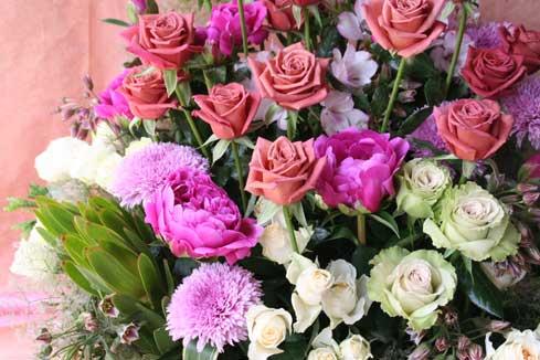 花ギフト|フラワーギフト|誕生日 花|カノシェ話題|スタンド花|ウエディングブーケ|花束|花屋|ショコラ2