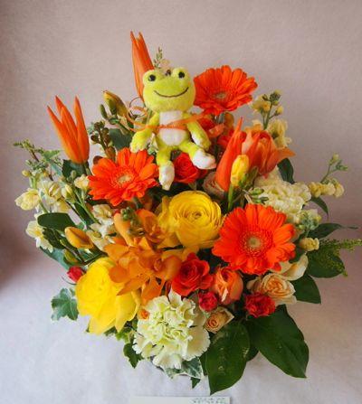 花ギフト|フラワーギフト|誕生日 花|カノシェ話題|スタンド花|ウエディングブーケ|花束|花屋|38206(1)