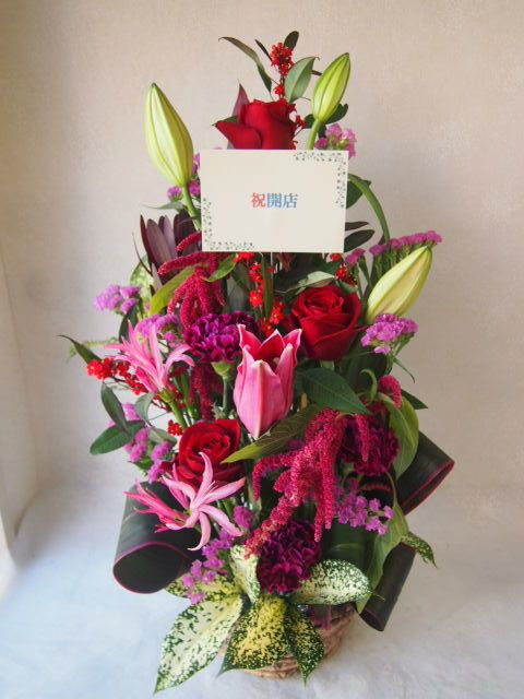 花ギフト|フラワーギフト|誕生日 花|カノシェ話題|スタンド花|ウエディングブーケ|花束|花屋|51984