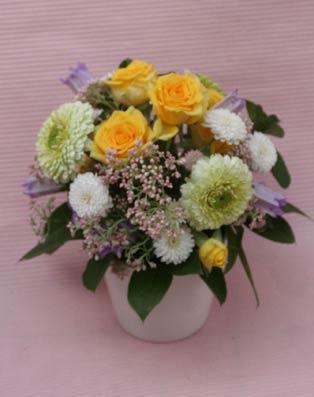 花ギフト フラワーギフト 誕生日 花 カノシェ話題 スタンド花 ウエディングブーケ 花束 花屋 IMG_7314