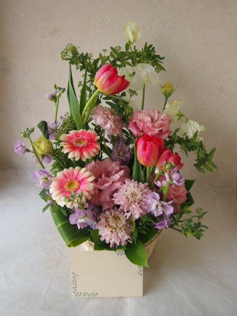花ギフト|フラワーギフト|誕生日 花|カノシェ話題|スタンド花|ウエディングブーケ|花束|花屋|54058