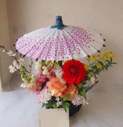 花ギフト|フラワーギフト|誕生日 花|カノシェ話題|スタンド花|ウエディングブーケ|花束|花屋|54289