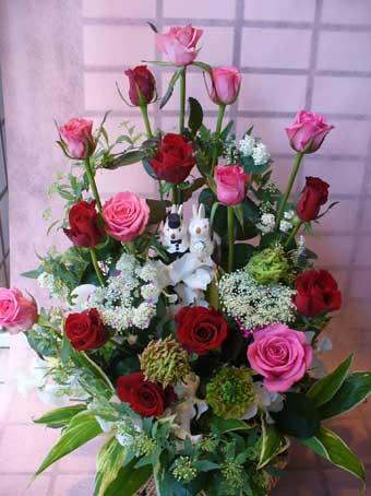 花ギフト|フラワーギフト|誕生日 花|カノシェ話題|スタンド花|ウエディングブーケ|花束|花屋|ドーム
