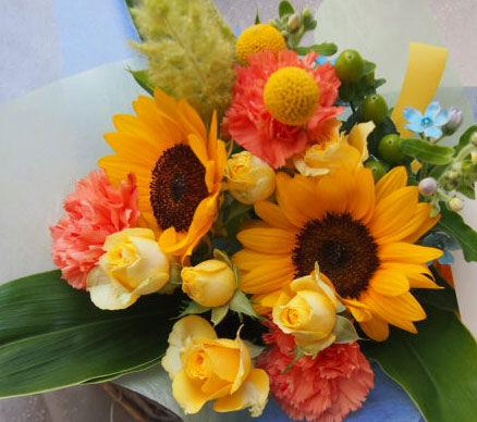 花ギフト|フラワーギフト|誕生日 花|カノシェ話題|スタンド花|ウエディングブーケ|花束|花屋|56573