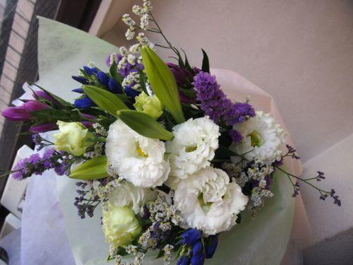 花ギフト|フラワーギフト|誕生日 花|カノシェ話題|スタンド花|ウエディングブーケ|花束|花屋|57514