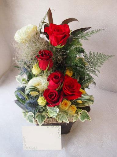 花ギフト|フラワーギフト|誕生日 花|カノシェ話題|スタンド花|ウエディングブーケ|花束|花屋|56219