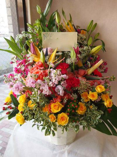 花ギフト|フラワーギフト|誕生日 花|カノシェ話題|スタンド花|ウエディングブーケ|花束|花屋|38045