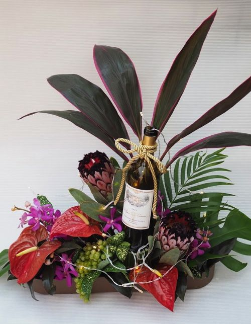 花ギフト|フラワーギフト|誕生日 花|カノシェ話題|スタンド花|ウエディングブーケ|花束|花屋|P8044051
