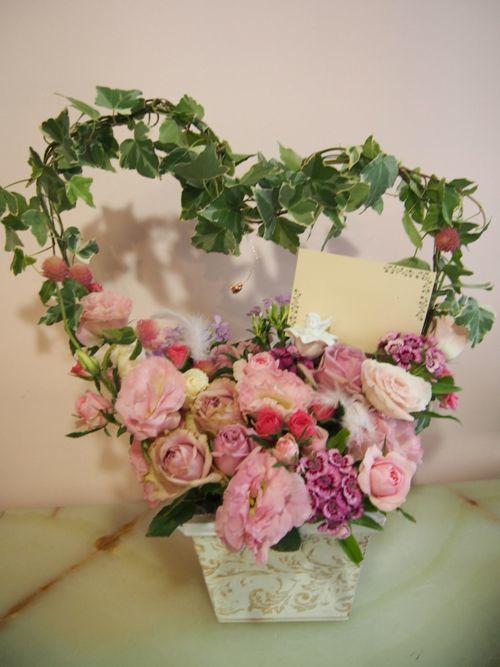 花ギフト|フラワーギフト|誕生日 花|カノシェ話題|スタンド花|ウエディングブーケ|花束|花屋|57711
