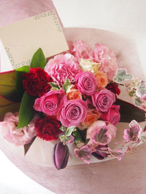 花ギフト|フラワーギフト|誕生日 花|カノシェ話題|スタンド花|ウエディングブーケ|花束|花屋|53088