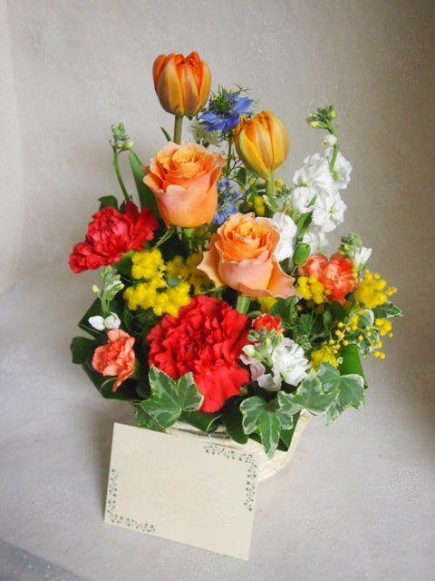 花ギフト|フラワーギフト|誕生日 花|カノシェ話題|スタンド花|ウエディングブーケ|花束|花屋|52967