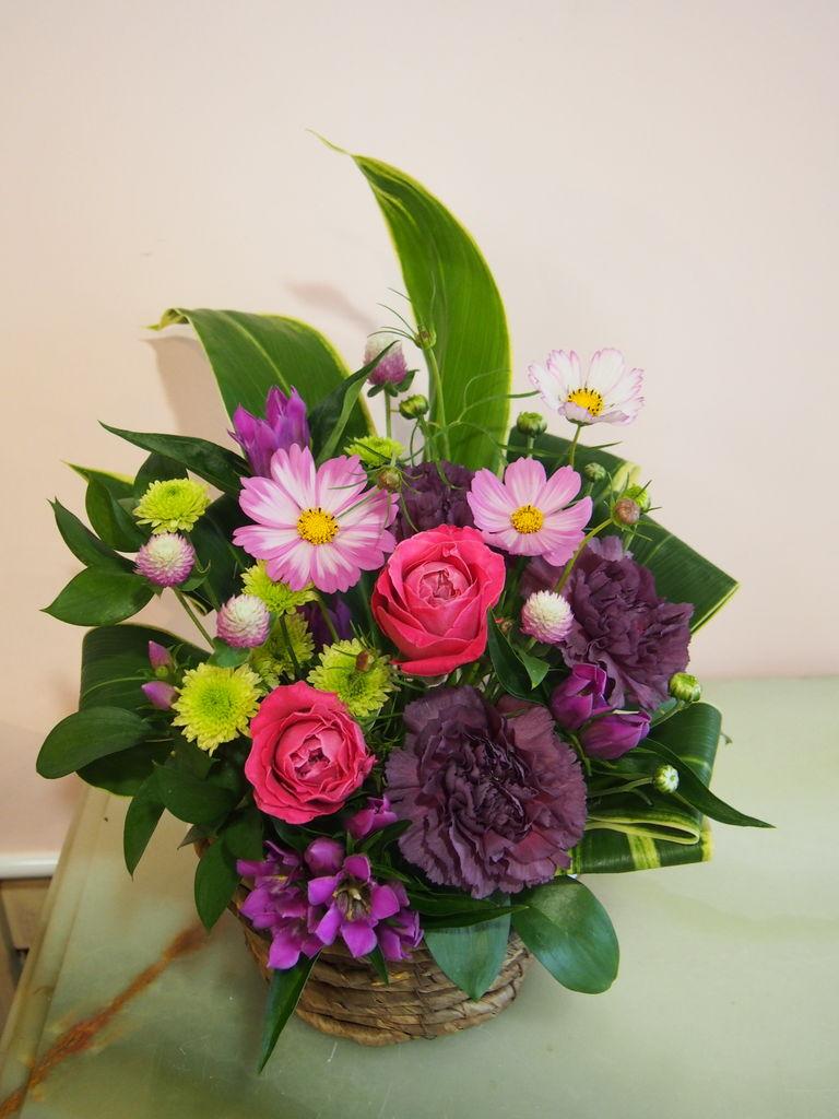 花ギフト|フラワーギフト|誕生日 花|カノシェ話題|スタンド花|ウエディングブーケ|花束|花屋|0829様