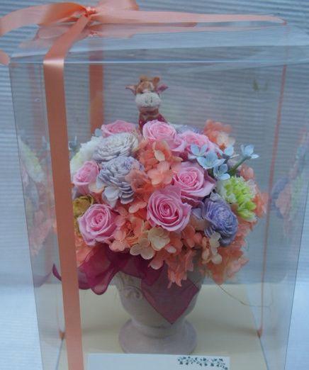 花ギフト|フラワーギフト|誕生日 花|カノシェ話題|スタンド花|ウエディングブーケ|花束|花屋|52292(1)