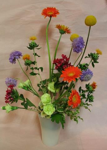 花ギフト フラワーギフト 誕生日 花 カノシェ話題 スタンド花 ウエディングブーケ 花束 花屋 IMG_7513