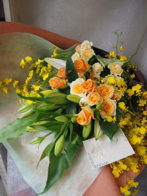 花ギフト|フラワーギフト|誕生日 花|カノシェ話題|スタンド花|ウエディングブーケ|花束|花屋|48598
