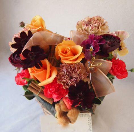 花ギフト|フラワーギフト|誕生日 花|カノシェ話題|スタンド花|ウエディングブーケ|花束|花屋|53739