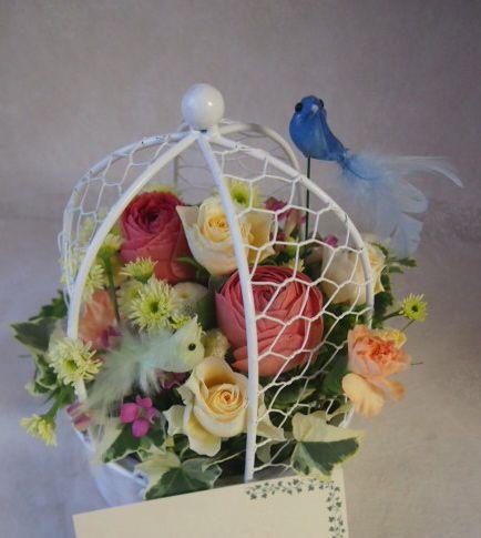 花ギフト|フラワーギフト|誕生日 花|カノシェ話題|スタンド花|ウエディングブーケ|花束|花屋|46689