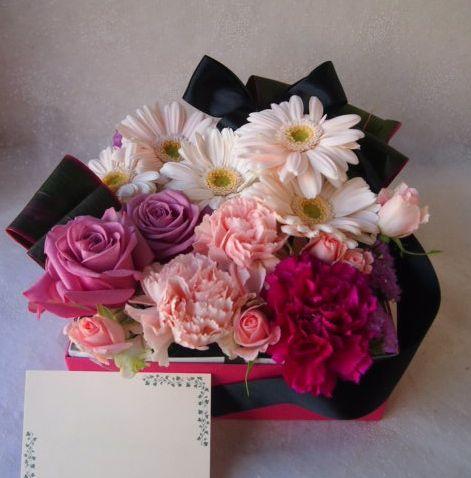 花ギフト|フラワーギフト|誕生日 花|カノシェ話題|スタンド花|ウエディングブーケ|花束|花屋|53686