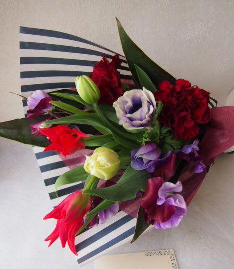 花ギフト|フラワーギフト|誕生日 花|カノシェ話題|スタンド花|ウエディングブーケ|花束|花屋|53681