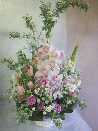 花ギフト|フラワーギフト|誕生日 花|カノシェ話題|スタンド花|ウエディングブーケ|花束|花屋|シンビ リップ