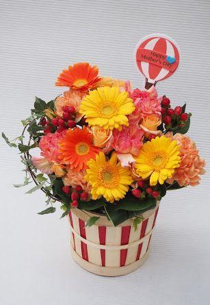 花ギフト|フラワーギフト|誕生日 花|カノシェ話題|スタンド花|ウエディングブーケ|花束|花屋|2016_haha_a3