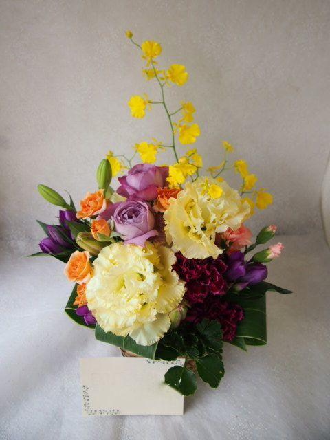 花ギフト|フラワーギフト|誕生日 花|カノシェ話題|スタンド花|ウエディングブーケ|花束|花屋|58374
