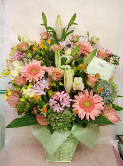 花ギフト|フラワーギフト|誕生日 花|カノシェ話題|スタンド花|ウエディングブーケ|花束|花屋|pink-or-rie