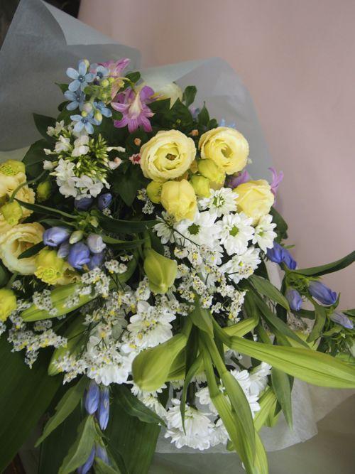 花ギフト|フラワーギフト|誕生日 花|カノシェ話題|スタンド花|ウエディングブーケ|花束|花屋|56849